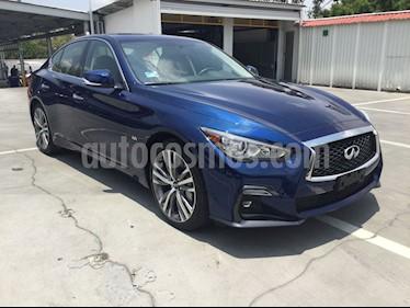 Foto venta Auto usado Infiniti Q50 Q50 3.0L SPORT 300 HP (2018) color Azul precio $570,000