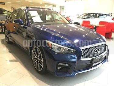 Foto venta Auto Seminuevo Infiniti Q50 Q50 3.0L SPORT T/A RWD (2017) color Azul Cobalto precio $660,000