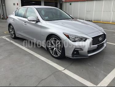 Foto venta Auto usado Infiniti Q50 Q50 3.5 HYBRID AUTO 4P (2018) color Plata precio $705,000