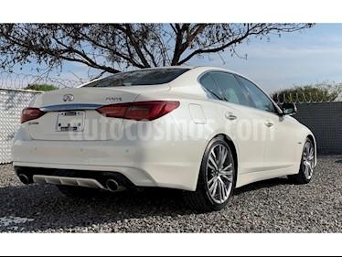 Foto venta Auto Seminuevo Infiniti Q50 Q50 3.5 HYBRID T/A RWD (2018) color Blanco precio $730,000
