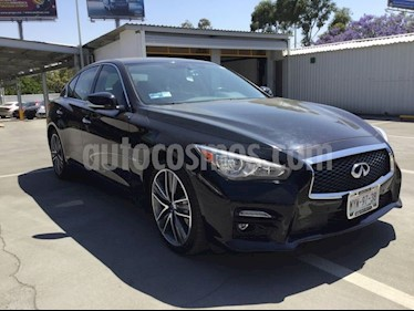 Foto venta Auto usado Infiniti Q50 Q50 400 SPORT T/A RWD (2017) color Negro precio $519,000