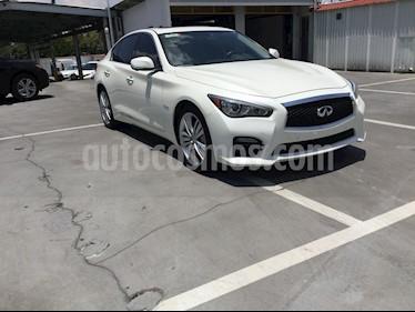 Foto venta Auto usado Infiniti Q50 Q50 400 SPORT (2017) color Blanco precio $540,000