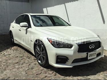 Foto venta Auto usado Infiniti Q50 Q50 HYBRID 3.5 AT 4P (2017) color Blanco precio $529,000