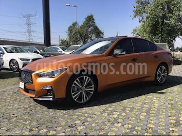 Foto venta Auto usado Infiniti Q50 Sport (2018) color Naranja precio $659,900