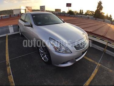 Foto venta Auto usado Infiniti Q60 G37 SEDAN TA V6 PTAS4 (2012) color Plata precio $179,000