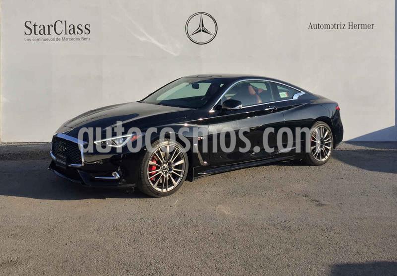 Infiniti Q60 400 Sport usado (2017) color Negro precio $649,900