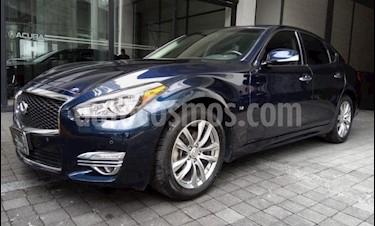 Infiniti Q70 4p Q70 Seduction V6/3.7 Aut usado (2017) color Azul Marino precio $373,000