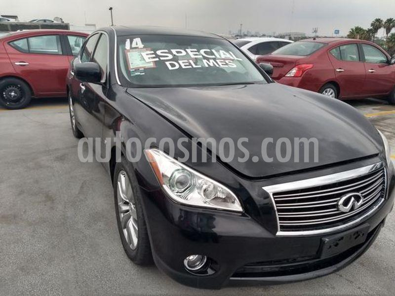 Infiniti Q70 Seduction 3.7 usado (2014) color Negro precio $330,000