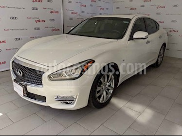 Infiniti Q70 Q70 Perfection V8/5.6 Aut usado (2016) color Blanco precio $335,000
