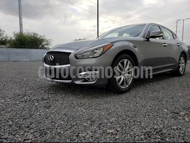 Foto venta Auto usado Infiniti Q70 Q70 3.7 SEDUCTION T/A RWD (2018) color Gris precio $545,000