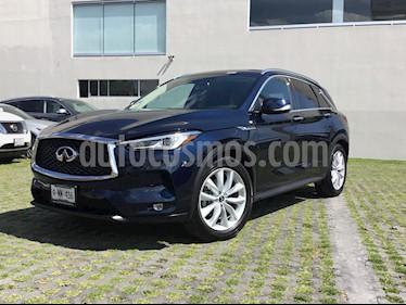Foto venta Auto usado Infiniti QX50 Essential (2019) color Azul Zafiro precio $740,000