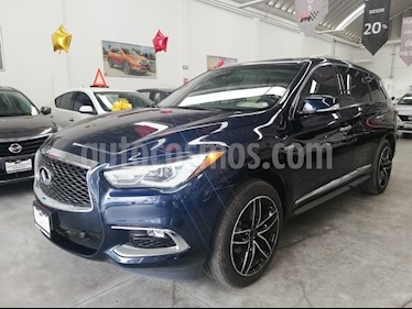 Foto venta Auto usado Infiniti QX60 2.5 Hybrid (2017) color Azul precio $620,000