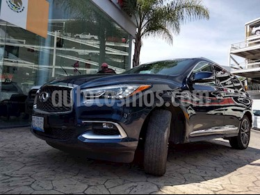 Foto venta Auto usado Infiniti QX60 2.5 Hybrid (2017) color Azul precio $739,000