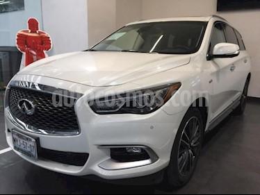 Foto venta Auto usado Infiniti QX60 5p QX60 HEV L4/2.5 Aut (2017) color Blanco precio $799,900