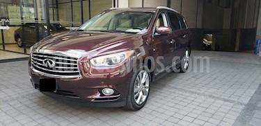 Foto venta Auto usado Infiniti QX60 5p QX60 Perfection V6/3.5 Aut (2015) color Rojo precio $405,000