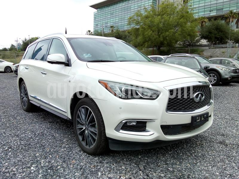 Infiniti QX60 3.5 Perfection Plus usado (2017) color Blanco precio $620,000