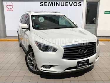 Foto Infiniti QX60 3.5 Perfection usado (2014) color Blanco precio $379,000