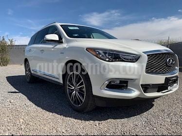 Foto venta Auto usado Infiniti QX60 QX60 2.5 HYBRID PLUS AWD 5P 7 Plazas (2017) color Blanco precio $890,000