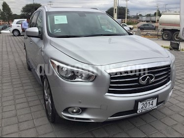 Foto Infiniti QX60 QX60 3.5 PERFECTION T/A AWD usado (2014) color Plata precio $360,000