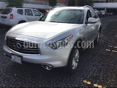 Foto venta Auto usado Infiniti QX70 3.7 V6 SEDUCTION (2014) color Plata precio $390,000