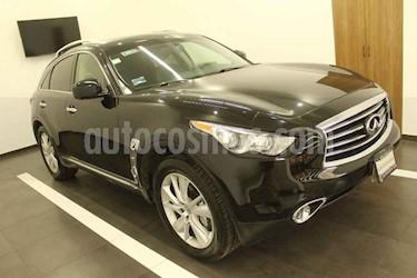 Infiniti QX70 5P QX70 Seduction V8 5.0 Aut usado (2015) color Negro precio $439,000