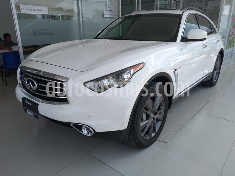 Infiniti QX70 5.0 Seduction usado (2015) color Blanco precio $375,000