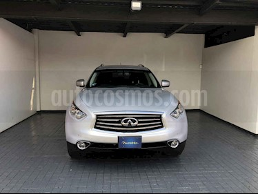 Infiniti QX70 5p 3.7 SEDUCTION 4WD TA usado (2014) color Plata precio $389,000