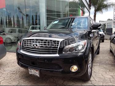 Foto venta Auto usado Infiniti QX80 56 7 Pasajeros (2014) color Negro precio $530,000