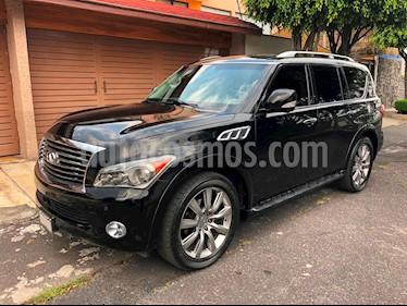 Foto venta Auto usado Infiniti QX80 56 7 Pasajeros (2013) color Negro precio $490,000