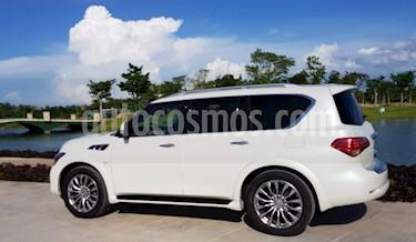 Foto venta Auto usado Infiniti QX80 56 7 Pasajeros (2015) color Blanco Nieve precio $730,000