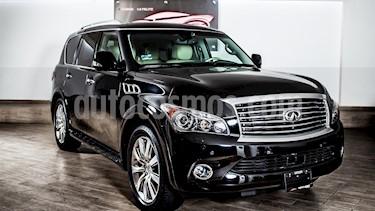 Foto venta Auto usado Infiniti QX80 56 7 Pasajeros (2014) color Negro precio $525,000