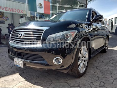 Foto venta Auto usado Infiniti QX80 56 7 Pasajeros (2014) color Negro precio $549,000