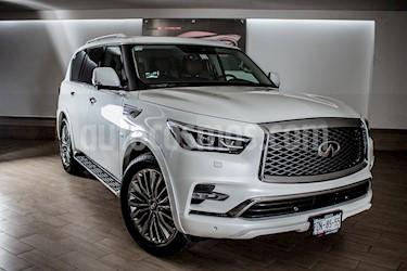 Foto venta Auto usado Infiniti QX80 Perfection 8 Pasajeros (2018) color Blanco Perla precio $1,490,000