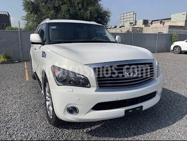 Foto venta Auto usado Infiniti QX80 QX80 5.6 8 PERFECTION TA AWD 8 PASAJEROS (2014) color Blanco precio $549,000