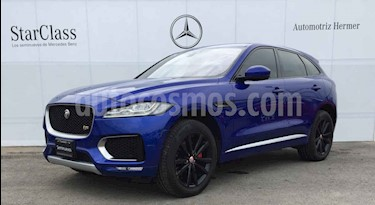Foto venta Auto usado Jaguar F-Pace First Edition (2017) color Azul precio $999,900