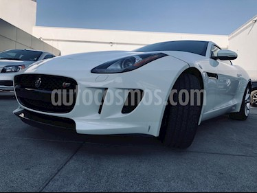 Jaguar F-Type S Coupe usado (2016) color Blanco Polaris precio $909,000