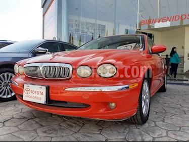 Jaguar X-type 4p V6 aut 2.5L q/c usado (2004) color Rojo precio $105,000