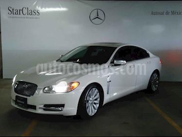 Jaguar XF 4p XF Luxury Premium V8 4.2L aut piel Lujo usado (2009) color Blanco precio $209,000