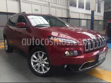 Foto venta Auto usado Jeep Cherokee 5p Limited 4x2 L4/2.4 Aut (2015) color Rojo precio $310,000