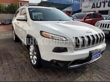 Foto venta Auto usado Jeep Cherokee 5p Limited 4x2 L4/2.4 Aut (2016) color Blanco precio $350,000