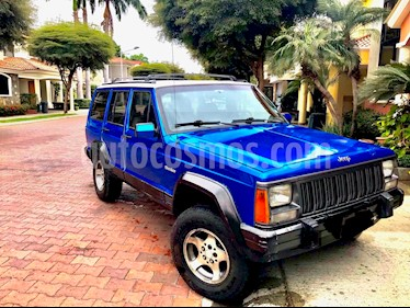 Foto venta Auto Usado Jeep Cherokee Classic  4X4  (1996) color Azul precio u$s8.200