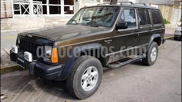 Foto venta Auto usado Jeep Cherokee Classic 4.0 (1995) color Verde Oscuro precio $240.000