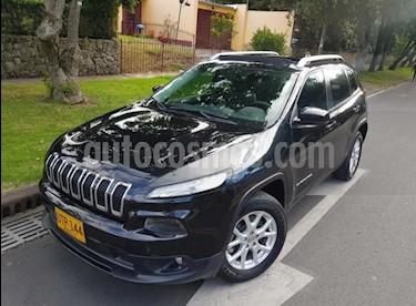 Jeep Cherokee 3.2L 4x4 Longitude Plus usado (2015) color Negro precio $73.500.000