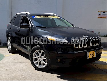 Foto venta Auto Seminuevo Jeep Cherokee Latitude (2015) color Negro precio $299,000