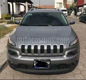 Foto venta Auto usado Jeep Cherokee Latitude (2015) color Plata Martillado precio $235,000
