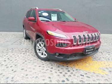 Foto venta Auto usado Jeep Cherokee Latitude (2016) color Rojo Cerezo precio $285,000