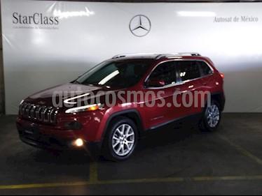 Foto venta Auto usado Jeep Cherokee Latitude (2015) color Rojo precio $265,000