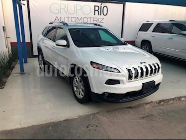 Foto venta Auto usado Jeep Cherokee Latitude (2015) color Blanco precio $249,000