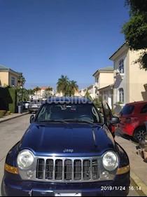 Foto venta carro usado Jeep Cherokee Limited 3.7L Aut 4x4 (2007) color Azul precio BoF3.700