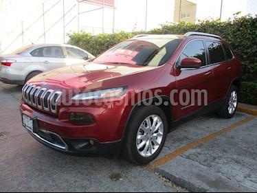 Foto venta Auto usado Jeep Cherokee Limited Plus (2017) color Rojo Cerezo precio $410,000